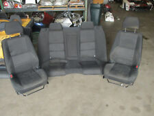 JDM OEM Lexus IS300 Altezza Black Front Back Seats Factory IS200 99-03 SXE10
