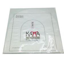 "Katta 10""Anti-Static HDPE Poly Inner Vinyl LP / EP Record Sleeves (Pack of 25)"