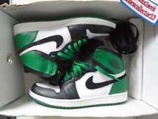 sports shoes 319c2 3ce1e AIR JORDAN 1 RETRO DMP White Black-Celtic Green Half Box Nike 332550 101