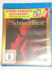 Die Schöne und das Biest 3D und 2D  Neu Blu Ray 2 Disc Edition Disney