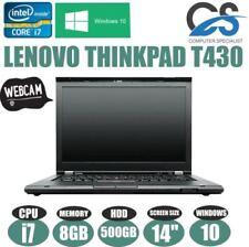 """Notebook e portatili Lenovo ThinkPad T430 dimensione dello schermo 14"""""""