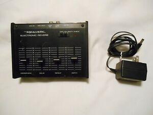 Vintage Realistic Electronic Reverb 32-1110 byRadio Shack
