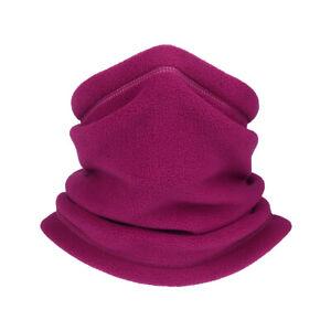 Winter Neck Gaiter Warmer Adjustable Windproof Fleece Face Mask for Men Women