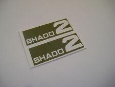 Dinky 353 - Shado 2  ( Green ) Stickers - B2G1F