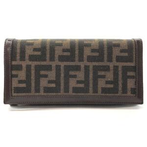 FENDI purse 2266.30851.099 Zucca canvas/leather Women