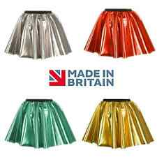 SUPERHERO Metallic Colour Dance Skirt, Hen party Disco 50s Circle fancy dress