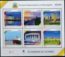 [324255] Colombia 2018 good sheet very fine MNH