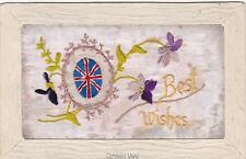 Not Available Embroidered Silk Collectable Military Postcards