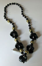 PITTSBURGH PENGUINS THEMATIC BEAD NECKLACE w/ HELMETS