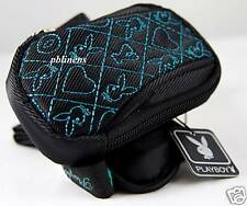 BNWT PLAYBOY IPOD CASE TEAL/BLACK WITH STRAP NEW