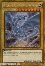MVP1-ENGV4 Blue-Eyes White Dragon Gold Secret Rare 1st Edition Mint YuGiOh Card