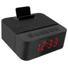 Digital Radio Alarm Clock All-In-One Design With Wireless Speaker,Fm Radio, O4L9