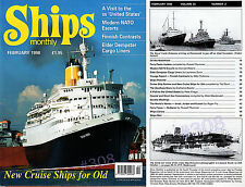 Ships Monthly Magazine February 1998 (33.2) - FULL Contents See Listing Images