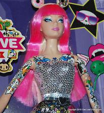 Tokidoki Barbie Doll 10th Anniversary - Black Label NRFB 2015