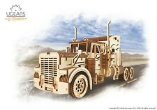 UGears Heavy Boy Truck VM-03 mechanical wooden model KIT 3D puzzle Assembly