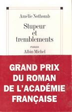 AMELIE NOTHOMB STUPEUR ET TREMBLEMENTS + PARIS POSTER GUIDE