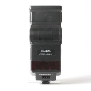 Minolta 4000AF Flash & Minolta Program 2800 AF Flashguns