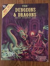 NM! TSR DUNGEONS & DRAGONS BASIC SET COMPLETE WITH SEALED DICE & CRAYON