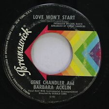 Hear! Northern Soul 45 Gene Chandler & Barbara Acklin - Love Won'T Start / Show