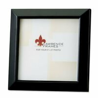 Lawrence Estero 5x5 Wood Picture Frame - Black (Same Shipping Any Qty)