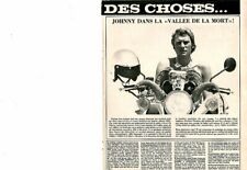 Coupure de presse Clipping 1973 Johnny Hallyday  (1 page)