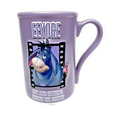 Disney Store Exclusive 3D Mug Eeyore Shy & Retiring Behind The Scene winnie pooh