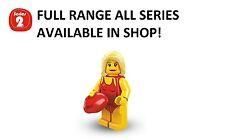 Lego minifigures lifeguard series 2 (8684) new factory sealed