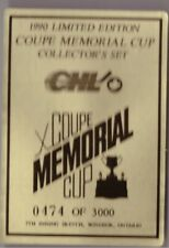 1990 Hockey 7th Inning Sketch Coupe Memorial Cup Set Break /3000 Oshawa Generals