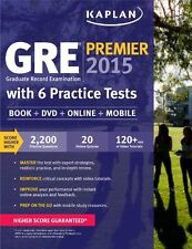 GRE Premier 2015 with 6 Practice Tests: Book + DVD + Online + Mobile (Kaplan T