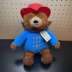 "Paddington Bear Kohls Cares Plush 14"" Teddy Blue Red Hat 2016 - Stuffed Soft"