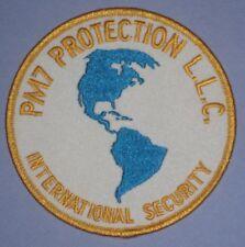 "PM7 Protection LLC Patch - International Security - 4"" x 4"" - Florida"