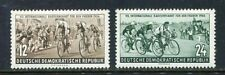 31221) DDR 1954 MNH** Nuovi** Cycling - Peace 2v.