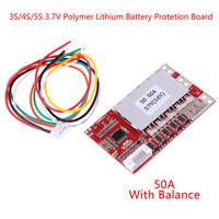 Module Protection De Charge De Bms De Batterie Polymère De 3S / 4S / 5S 3.7V JE