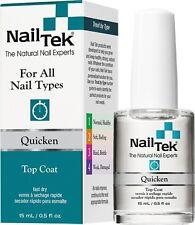 NailTek Quicken Top Coat - 15 ml/ 0.5 fl oz. - 55824 (New)