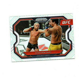 2021 Panini Prizm UFC Prizms Silver #188 Gokhan Saki
