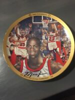 "Michael Jordan ""1993 CHAMPIONS"": Plate Bradford Exchange UpperDeck"
