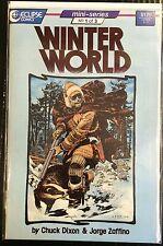 Winter World #1 VF+ 1st Print Free UK P&P Eclipse Comics