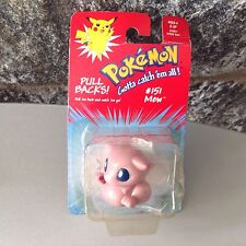 Vintage# Pokemon Pull Backs Mew# Mosc
