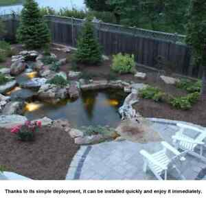 Fish Pond Liner Garden Pond Landscaping Pool Plastic Heavy Duty Membrane