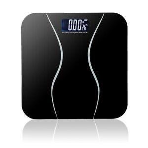 180KG Bathroom Weight Electronic Digital Scales Body Measures Weighing Scale UK