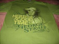 George Strait  Adult Medium  T-Shirt