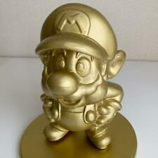 Nintendo Super Mario Gold Figure Store Display Novelty statue from japan F/S