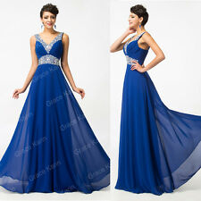 Elegant Long Formal Evening Prom Party Dress Bridesmaid Ball Gown Cocktail Dress