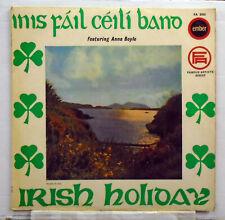 Inis Fail Ceili Band - Irish Holiday - 1967 vinyl LP Ember FA 2050