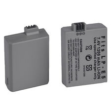 1pc 1200mAh Li-ion Battery Pack Camera Accessories for Canon LP-E5 LPE5 Reliable