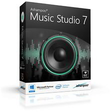 Ashampoo Music Studio 7 engl. fullvers.lifetime download 8,99 instead of 39,99