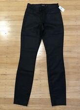 AYR - Black Coated Skinny Jeans - W: 24, L: 30