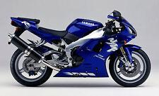 Yamaha retocar pincel coloran R1 R6 profundo color azul metálico cóctel dpbmc 564