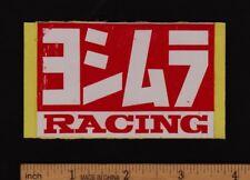 Early YOSHIMURA RACING STICKER Decal Vintage Superbike Suzuki Kawasaki Honda