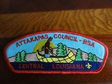 BOY SCOUTS BSA ATTAKAPAS COUNCIL CENTRAL LOUISIANA PATCH